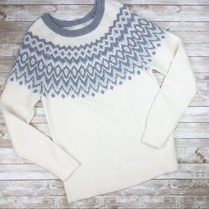 Dreamers Fair Isle Crew Neck Sweater